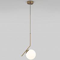 Потолочный светильник Евросвет Frost 50152/1 (латунь) -
