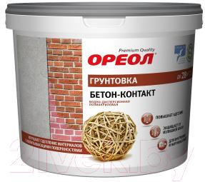 Грунтовка Ореол Бетонконтакт (6кг)