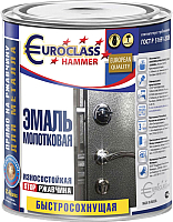 Эмаль Euroclass Молотковая (400г, шоколадный) -