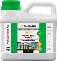 Антисептик для древесины Goldbastik Биоконтакт концентрат / BB 26 (1.25л) -