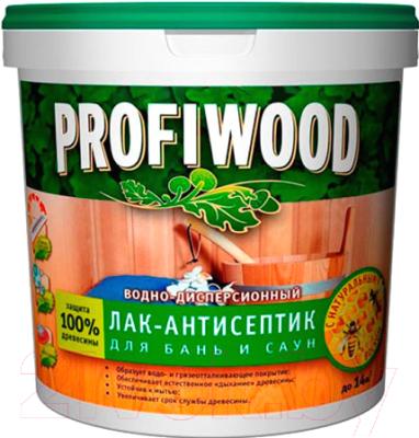 Антисептик для древесины Profiwood Для бань и саун