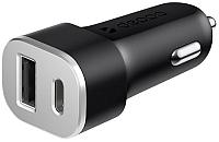 Зарядное устройство автомобильное Deppa 11288 (черный) -