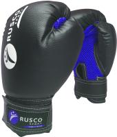 Боксерские перчатки RuscoSport 8oz (черный) -