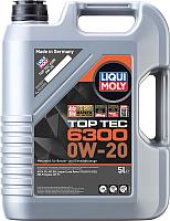 Моторное масло Liqui Moly Top Tec 6300 0W20 / 21217 (5л) -