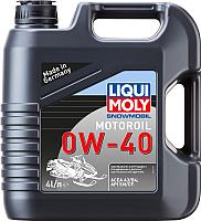 Моторное масло Liqui Moly Snowmobil Motoroil 0W40 / 2261 (4л) -