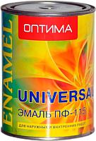 Эмаль Оптима ПФ-115 (900г, синий) -