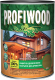 Защитно-декоративный состав Profiwood Для древесины (750мл, махагон) -