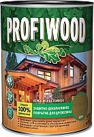 Защитно-декоративный состав Profiwood Для древесины (750мл, орех) -