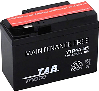 Мотоаккумулятор TAB YTR4A-BS / 313515 (2.3 А/ч) -