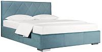 Двуспальная кровать ДеньНочь Мишель К03 KR00-19e 160x200 (KN26/KN26) -