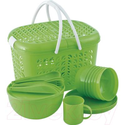 Набор пластиковой посуды Palisad Camping 69517
