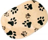 Лежанка для животных Trixie Joey 38921 (бежевый с лапами) -