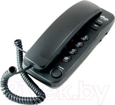Проводной телефон Ritmix RT-100 (Black) - общий вид