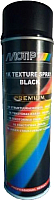 Краска MoTip 1K Texture Spray Black / 04123 (0.5л) -
