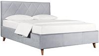 Двуспальная кровать ДеньНочь Мишель К04 KR00-19L 160x200 (PR05/PR05) -