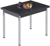 Обеденный стол Импэкс Марсель 1Р (металл хром/антрацит) -