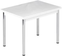 Обеденный стол Импэкс Leset Марсель 2Р (метал хром/белый) -