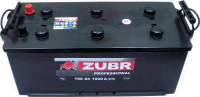 Автомобильный аккумулятор Zubr Professional New R+ (190 А/ч)