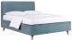 Односпальная кровать ДеньНочь Софи К04 KR00-18L 90x200 (KN26/KN26) -