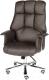 Кресло офисное Norden President Leather / H-1133-322 leather (темно-коричневый) -