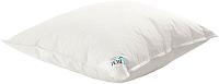 Подушка для сна D'em Пухнатыя воблачкi 68x68 (белый/желтый) -