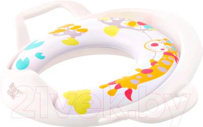Детская накладка на унитаз Roxy-Kids Жираф / RTS-622-12