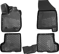 Комплект ковриков для авто Novline ELEMENT3D5237210K для Lada XRay (4шт) -