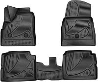 Комплект ковриков для авто Novline F420250E1 для Lada 4X4 5D (4шт) -