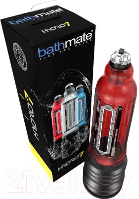 Вакуумная помпа для пениса Bathmate Hydro7 / 84507 (красный)