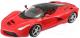 Масштабная модель автомобиля Bburago Феррари Ла Феррари Аперта / 18-26022 (красный) -