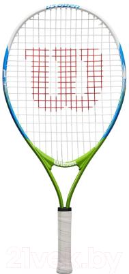 """Теннисная ракетка Wilson US OPEN 23"""" Junior 7-8 лет / WRT20320U (белый/синий)"""