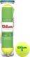 Набор теннисных мячей Wilson Starter Green Play / WRT137400 (4шт) -