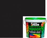 Краска Super Decor Резиновая №12 Карибская ночь (6кг) -