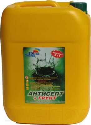 Грунтовка Super Decor Супергрунт 70 + Антисепт / ВД-АК-006
