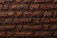 Декоративный камень Petra Карфаген угловой элемент 03К2.У (красное дерево) -