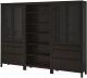Шкаф с витриной Ikea Хемнэс 192.338.01 -