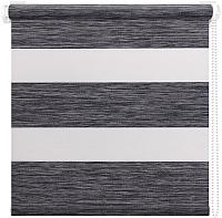 Рулонная штора АС ФОРОС Кентукки+ 8787 57x160 (графит) -