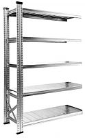 Секция для стеллажа Metalsistem S0.B.150.50/4d -