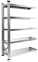 Секция для стеллажа Metalsistem S0.B.150.60/5d -