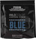 Порошок для осветления волос Wild Color Bleaching Powder осветляющая голубая -