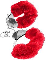Наручники Pipedream Original Furry Cuffs / 4422 (красный) -