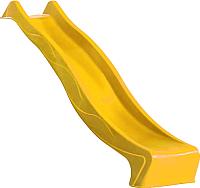 Скат для горки Little Panda Tsuri HDPE с подключением к воде (желтый) -