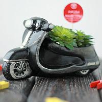 Кашпо Нашы майстры Мотоцикл 1089 (декорированное) -