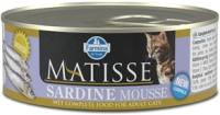 Корм для кошек Farmina Matisse Mousse Sardine (85г) -