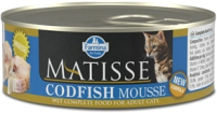Корм для кошек Farmina Matisse Mousse Codfish (85г) -
