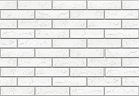 Декоративный камень Stone Mill Кирпич Оксфорд ПГД-1-Л 1500 (белый) -