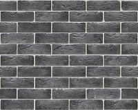 Декоративный камень Stone Mill Кирпич Шамотный ПГД-1-Л 0309 (антрацит) -
