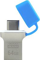 Usb flash накопитель Goodram ODD3 64GB Blue (ODD3-0640B0R11) -