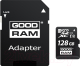 Карта памяти Goodram microSD UHS-I Class 10 128GB + адаптер (M1AA-1280R12) -