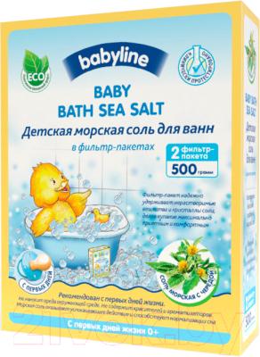 Соль для ванн детская Babyline Nature с чередой DN84 недорого